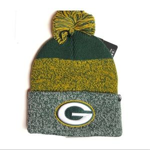 Green Bay Packers Knot Hat NWT